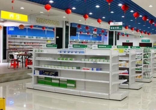 如何正确的保养药店货架?